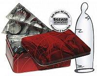 50 prezervatívov v zaujímavej plechovej krabičke - NOVINKA