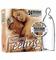 Extra tenké kondómy Nature Feeling 24 ks