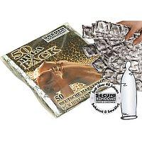 Hladké kondómy bez parfumovania - 50 kusov
