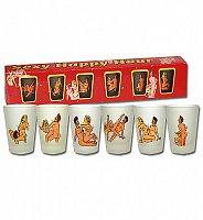 Pekný darček pre každého - 6 žartovných pohárov
