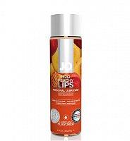 Lubrikačný gél na vodnej báze H2O JO Peachy lips - broskyňa