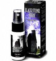 Sprej na oddialenie orgazmu pre mužov Black Stone Spray 15 ml