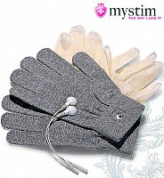 Doplňujúca pomôcka magické rukavice Mystim Magic Gloves k sade elektrosex