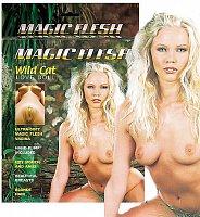 Krásna nafukovacia panna Magic Flesh Wild Cat 2 otvory + vagína