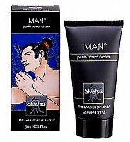 Úžasny krém pre mužov Shiatsu Penis Power Cream na prekrvenie a podporu mužstva