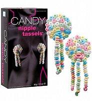 Senzačné jedlé cukríky na bradavky Candy Nipple Tassels