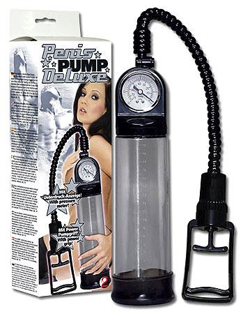 Vákuová pumpa s tlakomerom Deluxe